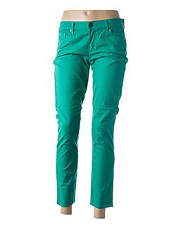 Pantalon 7/8 vert CITIZENS OF HUMANITY pour femme