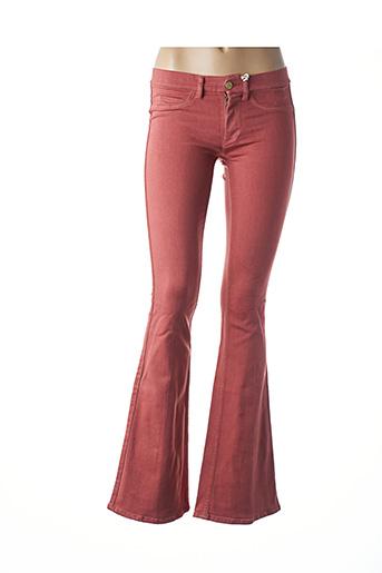 Pantalon casual orange MIH JEANS pour femme