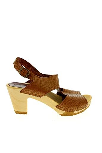 Sandales/Nu pieds marron BOSABO pour femme