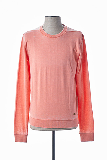 Sweat-shirt orange RED SOUL pour homme