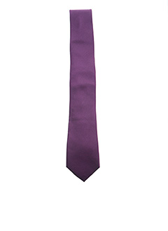 Cravate violet DANIEL HECHTER pour homme