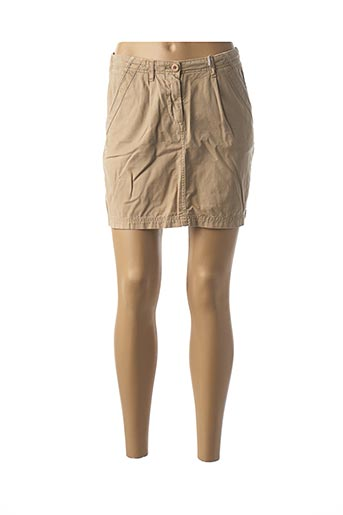 Jupe courte beige HARRIS WILSON pour femme