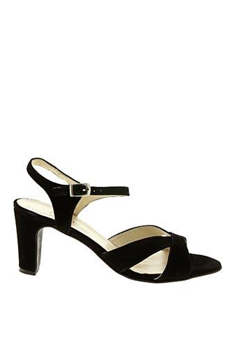 Sandales/Nu pieds noir AYAME pour femme