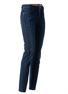 Jeans coupe slim bleu TRUSSARDI JEANS pour femme