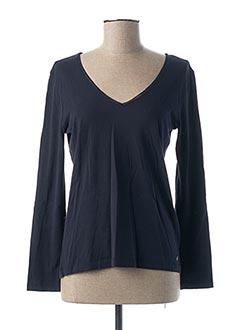 T-shirt manches longues bleu DES PETITS HAUTS pour femme