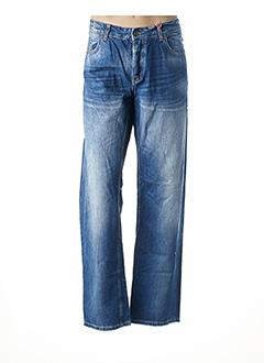 Jeans coupe droite bleu MC GREGOR pour homme