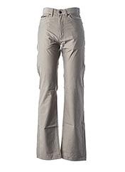 Pantalon casual marron HUGO BOSS pour homme seconde vue