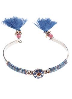 Bracelet Jonc bleu FRANCK HERVAL pour femme