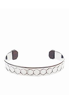 Bracelet Manchette gris ORI TAO pour femme
