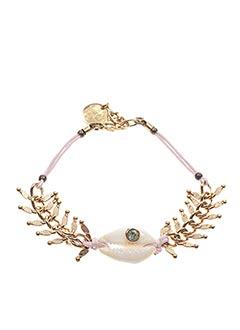 Bracelet jaune FRANCK HERVAL pour femme