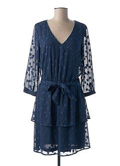 Robe mi-longue bleu GAUDI pour femme