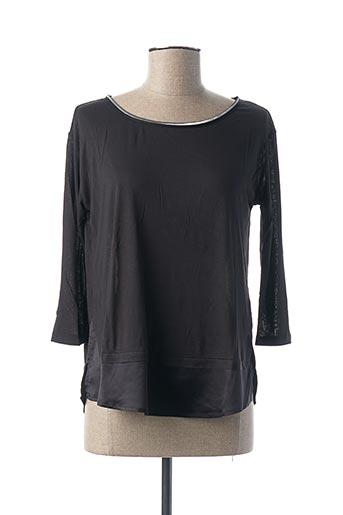 T-shirt manches longues noir KOCCA pour femme
