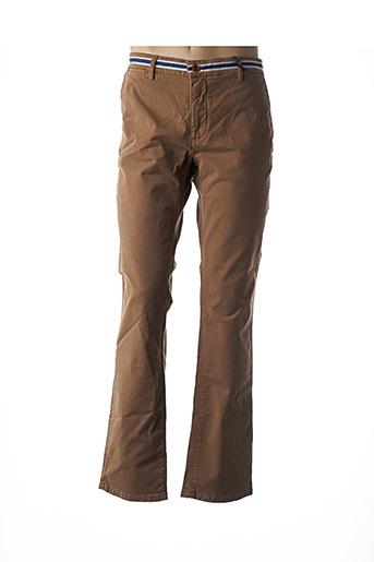 Pantalon casual marron BACK TO ALASKA pour homme