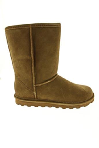 Bottines/Boots marron BEARPAW pour femme
