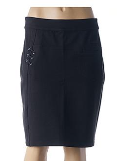 Jupe mi-longue noir THALASSA pour femme