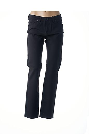 Pantalon casual noir GEVANA pour femme