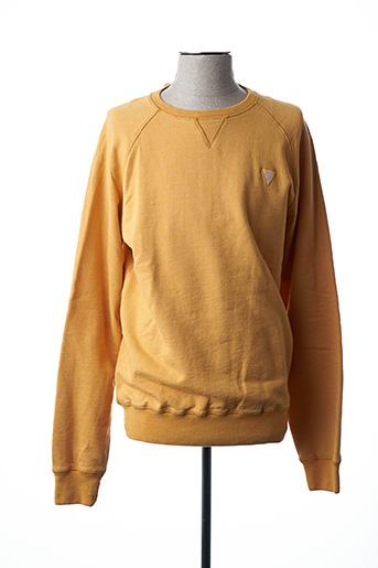 Sweat-shirt jaune CAMBERABERO pour homme