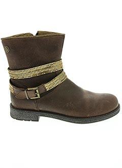 Bottines/Boots marron GARVALIN pour femme