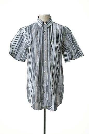Chemise manches courtes noir J.T ASCOTT pour homme