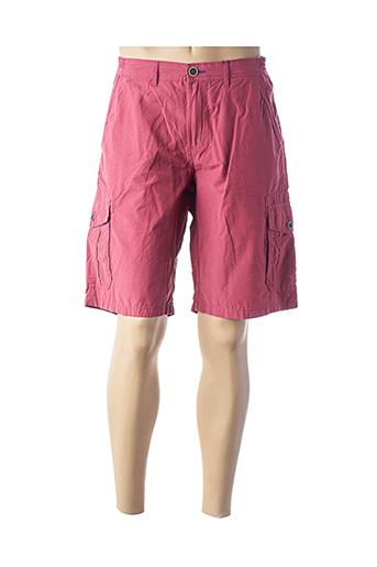Bermuda rouge PETER COFOX pour homme