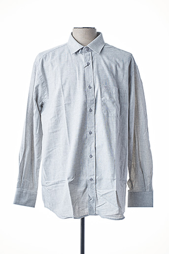 Chemise manches longues gris ARMORIAL pour homme