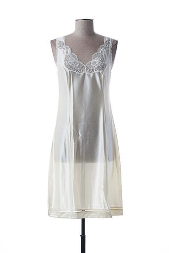 Jupon /Fond de robe beige PRIVILEGE pour femme
