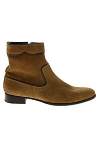Bottines/Boots marron BAXTON pour homme