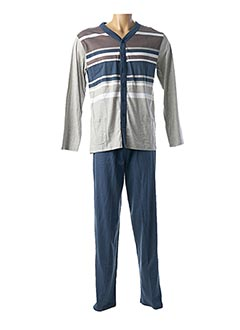 Pyjama bleu ROSE POMME pour homme