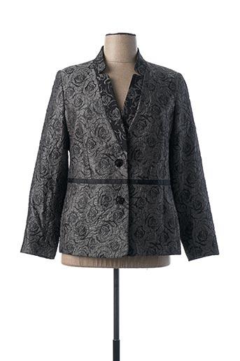 Veste chic / Blazer gris QUATTRO pour femme