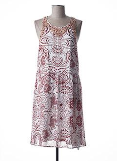 Robe mi-longue rouge GAUDI pour femme