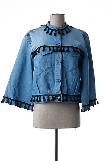 Veste en jean bleu LOLITAS & LOLOS pour femme
