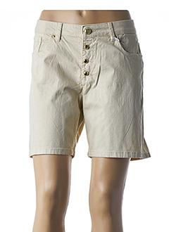 Produit-Shorts / Bermudas-Femme-GAUDI