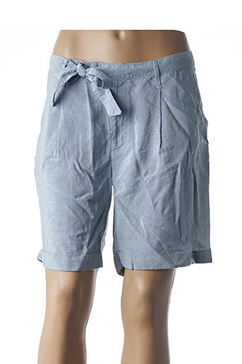 Short bleu DESGASTE pour femme