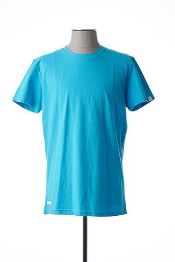 T-shirt manches courtes bleu RAGWEAR pour homme