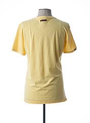 T-shirt manches courtes jaune RAGWEAR pour homme seconde vue