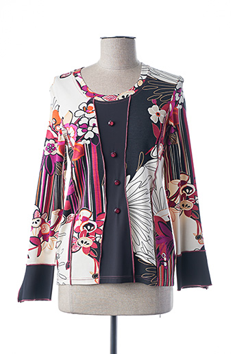 T-shirt manches longues rose IMPULSION pour femme