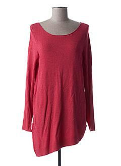 Pull tunique rouge OLSEN pour femme