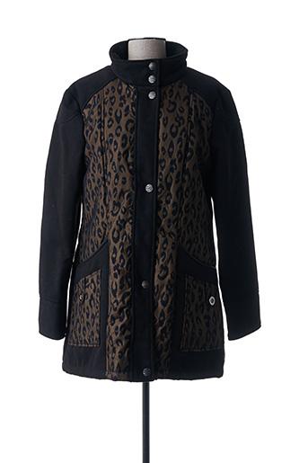 Manteau long noir C.MISSARO pour femme