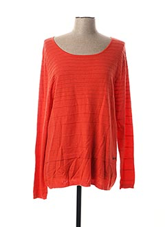 Pull col rond rouge ANANKE pour femme