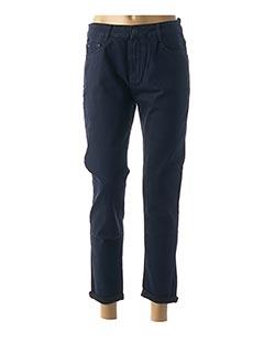 Jeans coupe slim bleu B.S JEANS pour femme