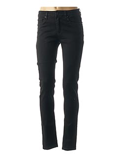 Jeans coupe slim noir R.DISPLAY pour femme
