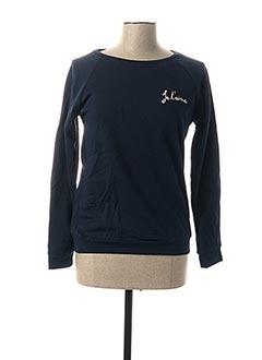 Sweat-shirt bleu CERISE BLUE pour femme