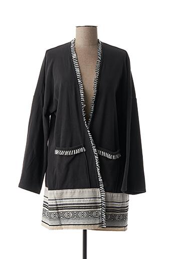 Robe de chambre gris LE CHAT pour femme