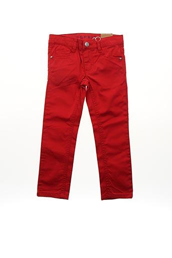 Pantalon casual rouge ESPRIT pour fille