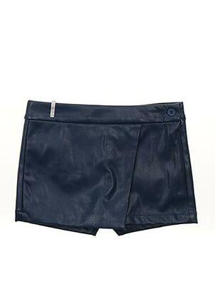 Jupe short bleu BOBOLI pour fille