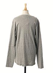 T-shirt manches longues gris GARCIA pour garçon seconde vue