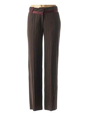 Pantalon chic marron BOSCA pour femme