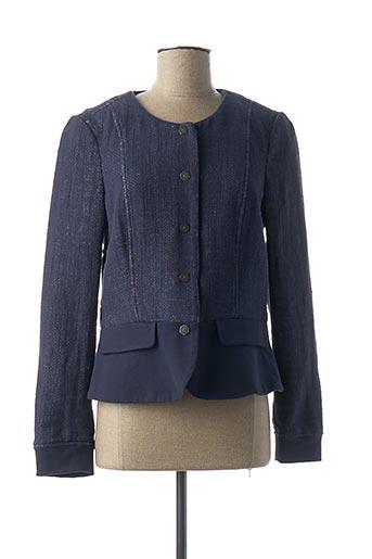 Veste casual bleu SANDWICH pour femme