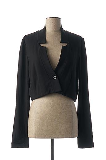 Veste casual noir SANDWICH pour femme