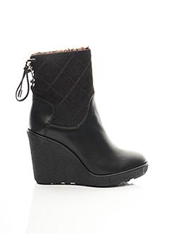 Bottines/Boots marron MONCLER pour femme